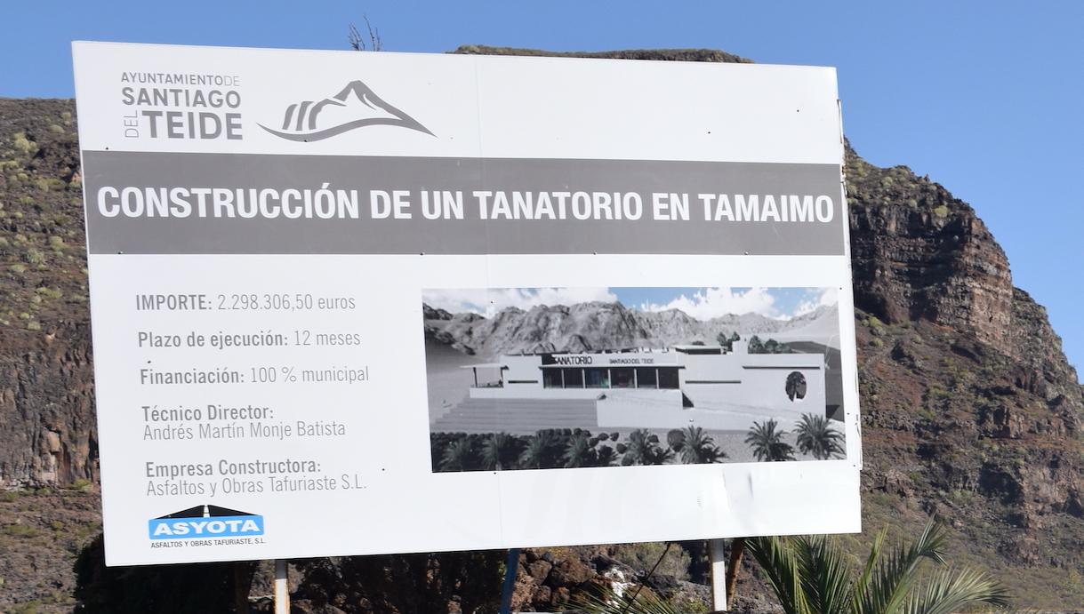 Esquelas.es   El alcalde de Santiago del Teide ha firmado el acta de replanteo para iniciar las obras del futuro tanatorio
