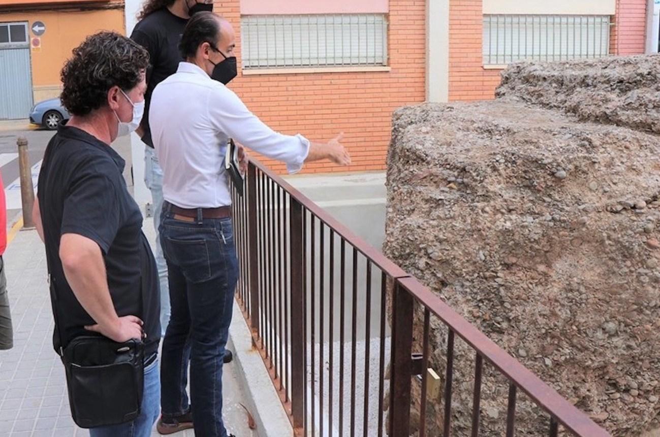 Esquelas.es | Finalizan la primera fase de actuación sobre el monumento funerario romano de Sagunto