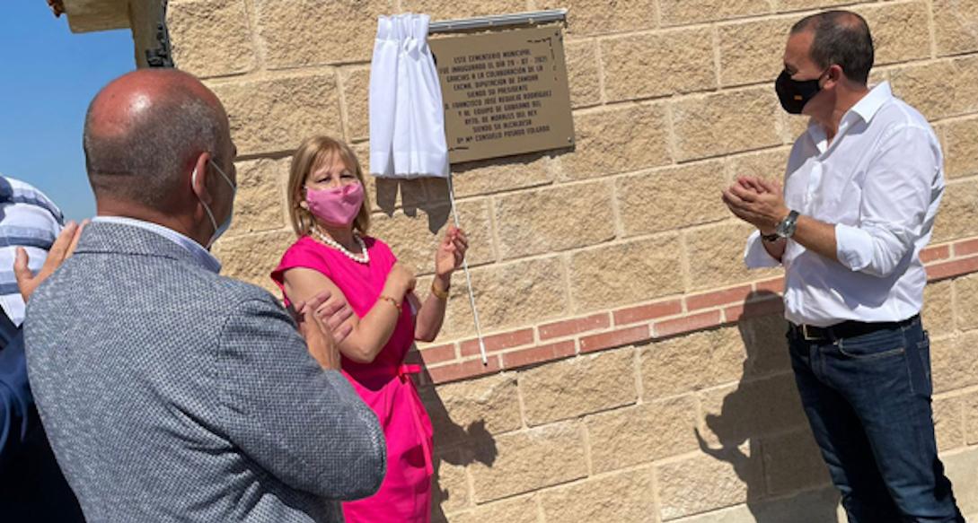 Esquelas.es   Inauguran el nuevo cementerio de Vecilla de la Polvorosa construido por la Diputación Provincial