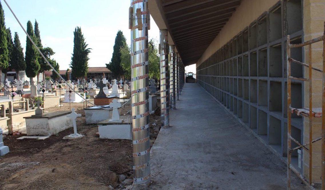 Esquelas.es   El Ayuntamiento de La Roda a destinado 84.500 euros en la construcción de 232 nuevos nichos
