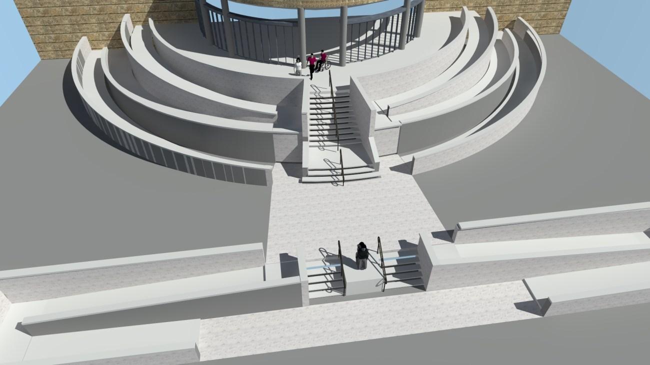 Esquelas.es | El Consistorio comenzará las obras de accesibilidad en el entorno del cementerio de Os Alimpadoiros