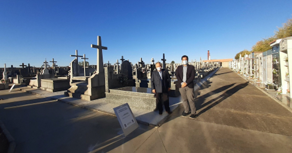 Esquelas.es   Finaliza la pavimentación del cementerio vecinal de Trobajo en San Andrés de Rabanedo