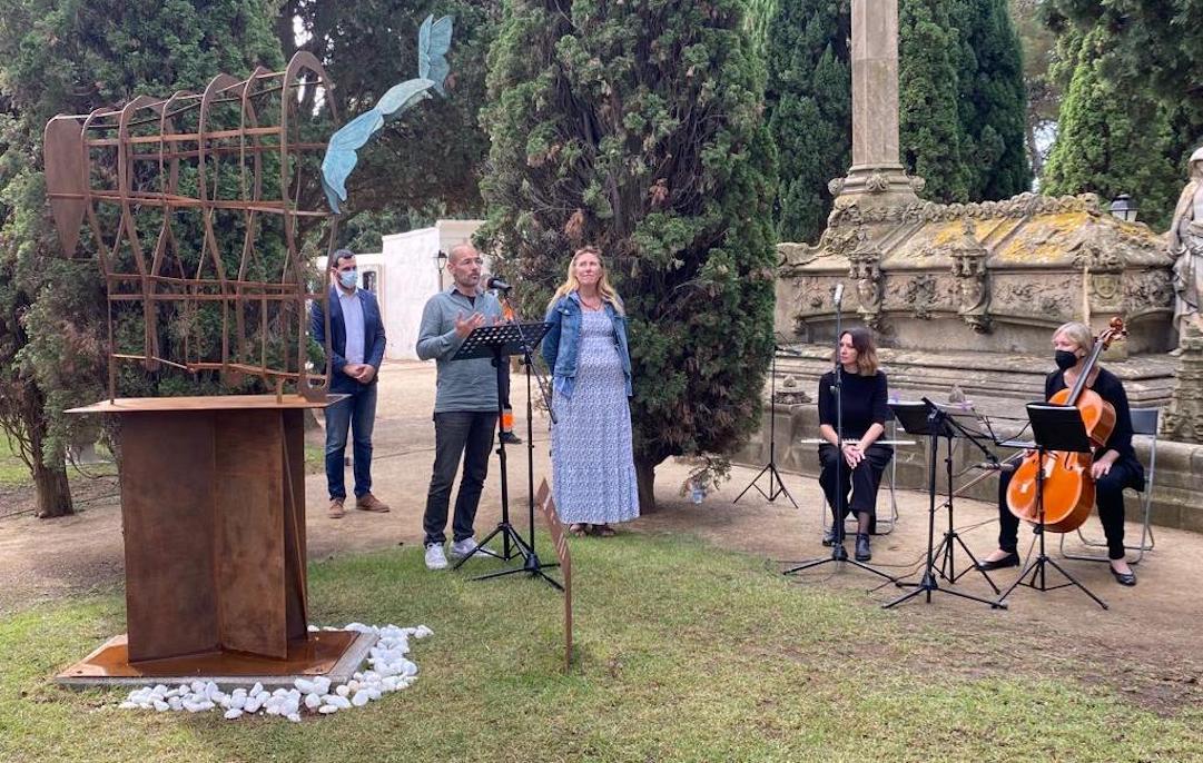Esquelas.es   PFB Serveis Funeraris colabora en el acto conmemorativo del Día mundial del duelo gestacional y perinatal en Alella