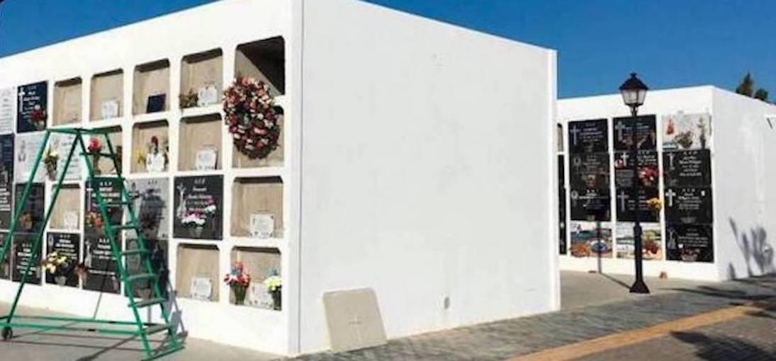 Esquelas.es   El Cementerio de San Román de Arrecife dispone de 96 nuevos nichos y aseos reformados