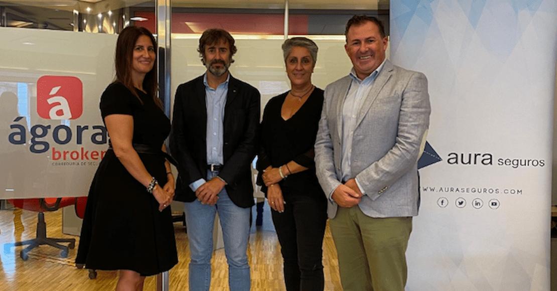 Esquelas.es   Ágora Broker y Aura Seguros alcanzan un acuerdo de colaboración