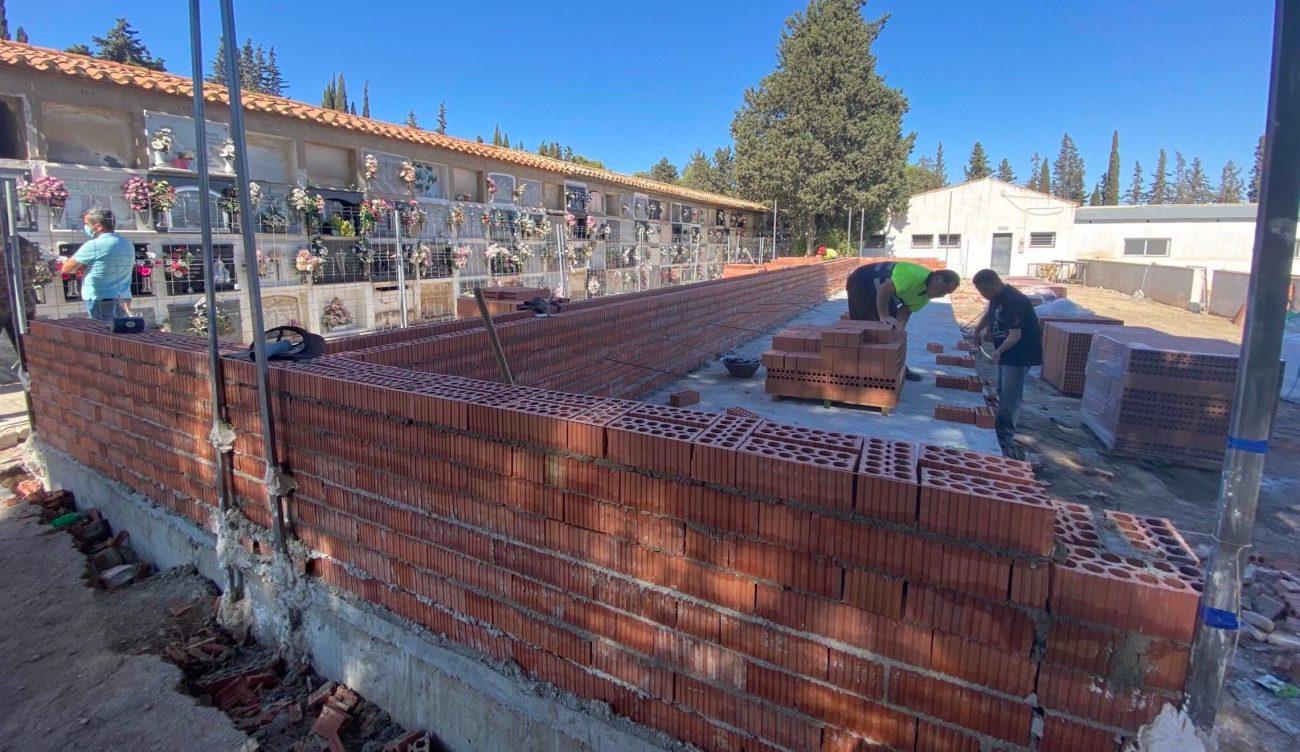 Esquelas.es   Amplían el cementerio municipal de San Damián con un nuevo pabellón de 108 nichos